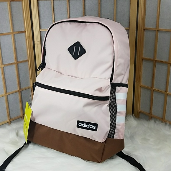 Adidas Icey Pink Classic 3S Backpack 5e14766a03882